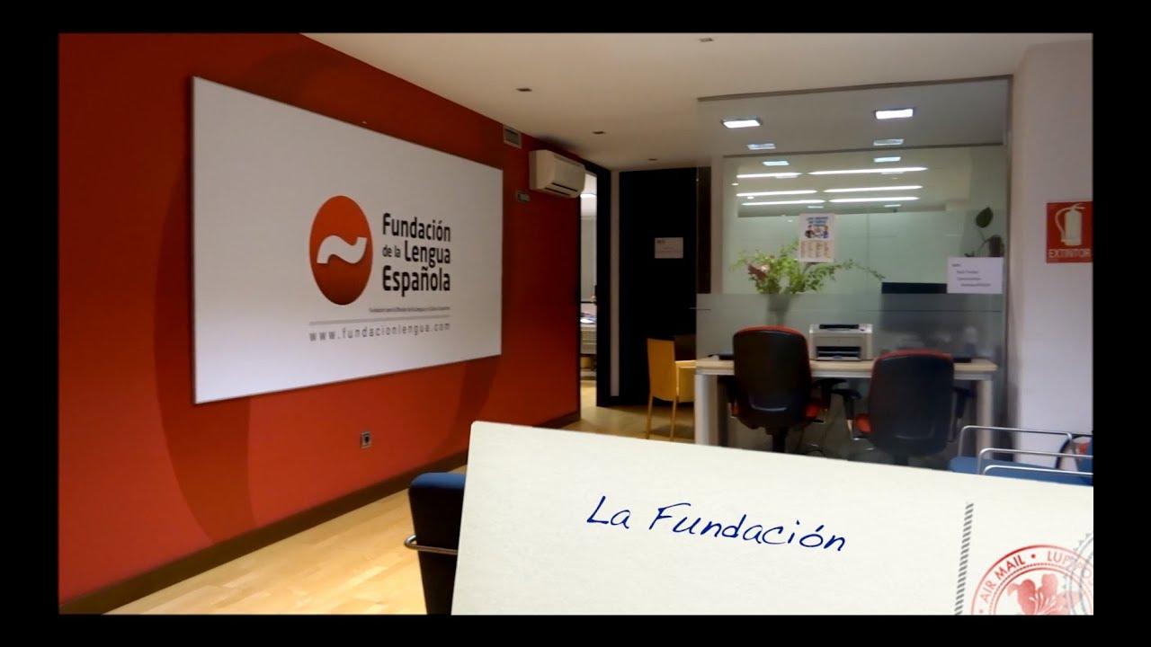 Presentación de la Fundación para la Difusión de la Lengua y la Cultura  Española - YouTube