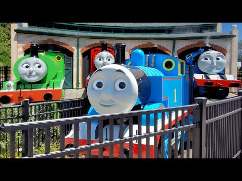 Thomas Town at Kennywood Full Tour With Train Ride and Gift Shop + Kiddietown Vlog