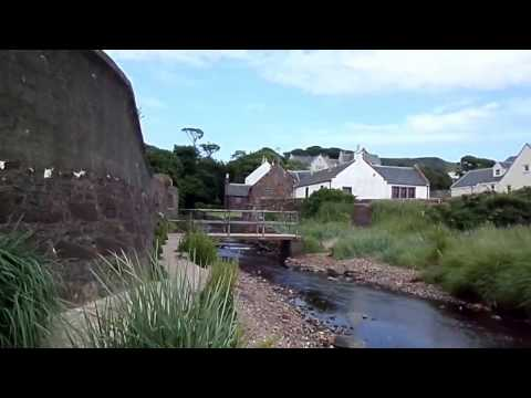 The old Sea Mill at Seamill, West Kilbride, Scotland