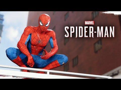 SPIDER-MAN PS4 - O Início de Gameplay em Português PT-BR