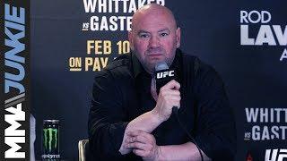 UFC 234: Dana White full post-fight interview
