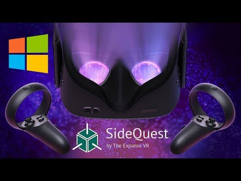 Oculus Quest/Go Windows SideQuest Tutorial - Install Any APK/Game/Application