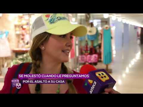 Andrea Legarreta se enoja con reportera de Ventaneando