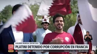 Michel Platini fue detenido por corrupción en el Mundial de Qatar 2022