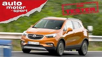 Opel Mokka X: Zwischen Crossland und Grandland ist noch Platz - Die Tester   auto motor und sport