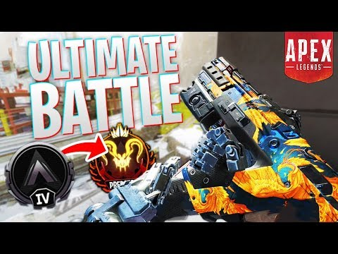 The ULTIMATE Battle! - PS4 Apex Legends!