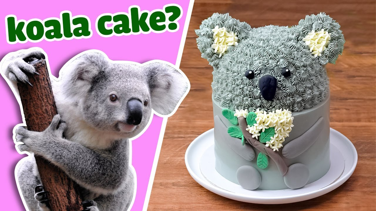 Baby Koala With Cakes   Transforming Cake At Home   So Yummy Cake Decorating Compilation
