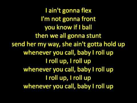 Roll Up-Wiz Khalifa (Lyrics)