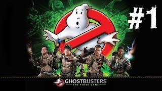 Ghostbusters Movie Game Gameplay Walkthrough Part 1 Let's Play Review PC 1080p HD 2016