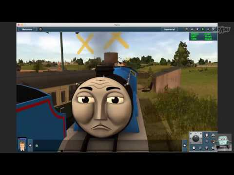 What Our Skype Calls are Like: Episode 37 - Cheap Merchandise and More Trainz Murder