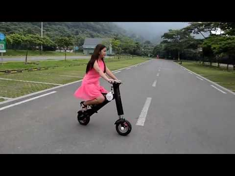 ET-King [Hype Hover-1] Electric Moped Scooter Folding E-Bike Review Riding Story-015
