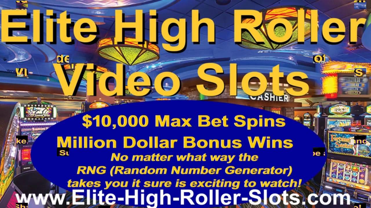 Elite High Roller Video Slots