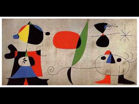 Joan Miró  瓊·米羅 (1893–1983) Surrealism  Lyrical Abstraction Spanish
