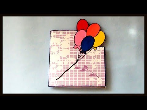 Diy Cute Easy Birthday Greeting Cards For Kids How To Make Paper