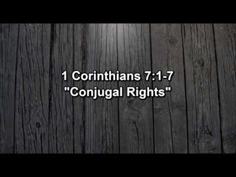 """Conjugal Rights"""