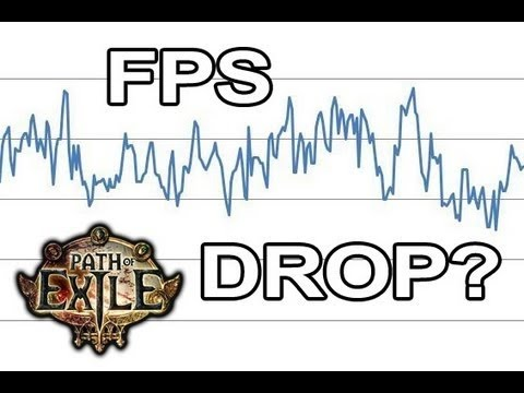 how to show fps path of exile