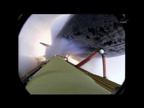 ᴴᴰ External Tank video last Space Shuttle launch STS-135 OnBoard