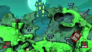 """Worms Revolution """"gameplay trailer"""""""