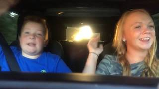 Video Karaoke in the car with my sister download MP3, 3GP, MP4, WEBM, AVI, FLV Juli 2018