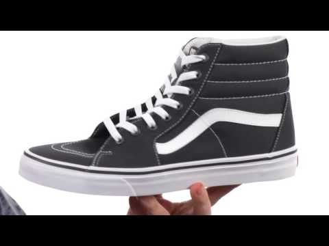 bc2ebb1c72 VANS SK8-HI Shoes (Black) -  REVIEW  - Action.News ABC Action News ...