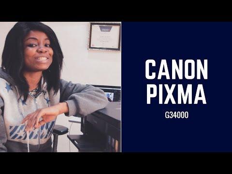 Canon Pixma G3400 Review.
