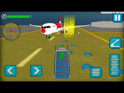 Airport Ground Flight Staff 3D Android Gameplay 2017