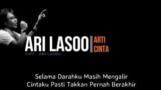 Gambar cover Ari Lasso - Arti Cinta ( Lirik )