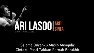 Ari Lasso - Arti Cinta ( Lirik )