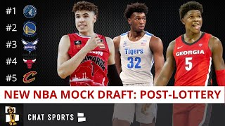 NBA Mock Draft 2020 Post-Lottery: Timberwolves Take Anthony Edwards #1, Melo Ball #2 To Warriors?