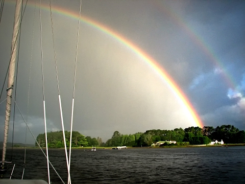 Rainbows and Reflections - a 2009 cruise to Ireland's west coast