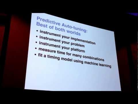 Machine Learning For Predictive Auto-Tuning (Bergstra, Pinto, Cox - Harvard)