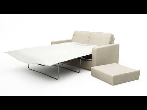 Alda 2 Seat Double Sofa Bed