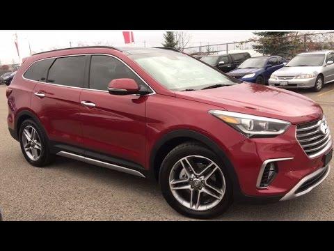 2017 Hyundai Santa Fe Limited Xl W Awd Whitby Oshawa Honda Stock U3836 Youtube