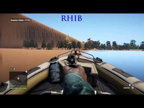 Far Cry 4 - All Vehicles