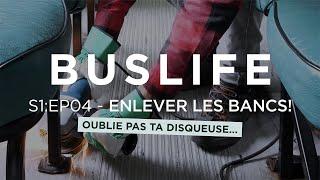 """S1:EP04 - """"On enlève LES BANCS de notre AUTOBUS SCOLAIRE?!"""" - 🚌💨"""