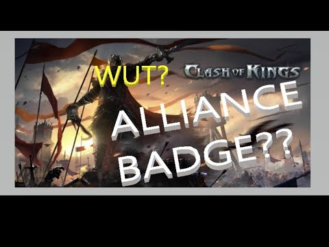 Clash Of Kings The West - Alliance Badges And Capital Quests