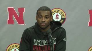 De'Mornay Pierson-El Spring Press Conference 3/1/17