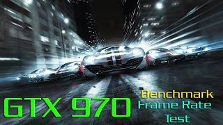 Grid 2 GTX 970 Ultra Settings Benchmark - Frame Rate Test