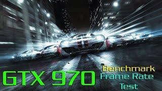 Grid 2 GTX 970 Ultra Settings Benchmark - Frame Rate Test
