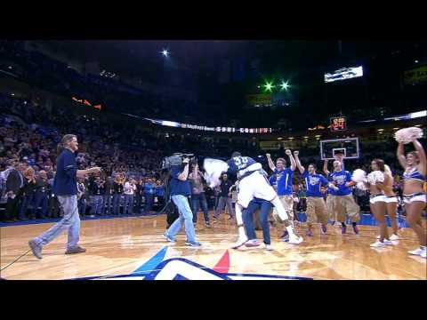 Thumbnail: Durant Tackles Fan in OKC After Half-Court Shot