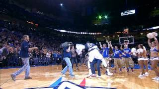 Durant Tackles Fan in OKC After Half-Court Shot