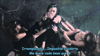 Irremplazable (Karaoke) Letra con coros