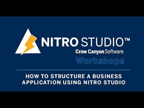 NITRO Studio Workshop: