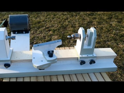 Homemade Lathe Pt. 2 – tool rest and tailstock