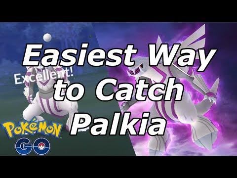 Easiest Way to Catch Palkia in Pokemon Go!!! thumbnail