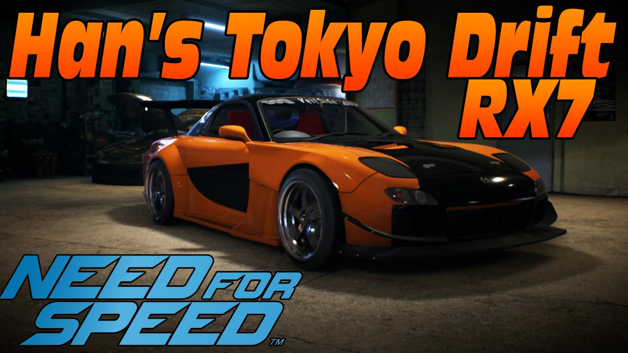 need for speed 2015 han s tokyo drift veilside rx7 fast and