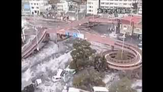 The tsunami disaster in Japan (never seen footage)