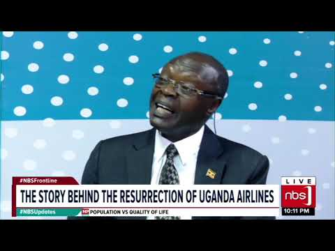 The Story Behind The Resurrection Of Uganda Airlines |NBS Frontline seg1