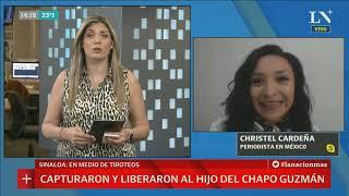 """Liberan al hijo del """"Chapo"""" Guzman y se desata guerra narco en México"""