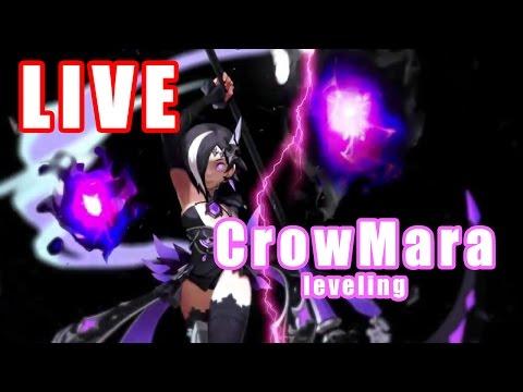 [DNEU] Dragon Nest Europe - Black Mara leveling #4 - CrowMara LIVE